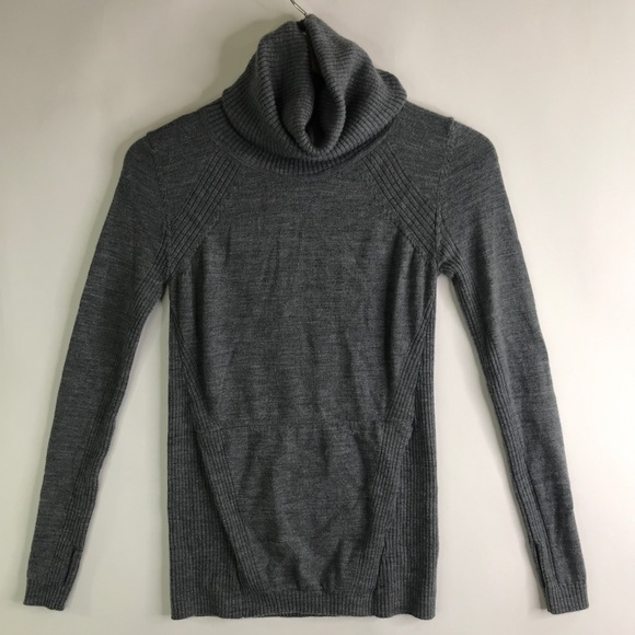 Lululemon Sweat And Savasana Gray Sweater 2